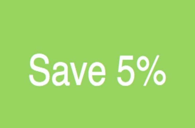 Pre-Pay And Save 5% - Superior Double