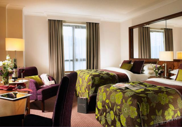 Twin - Room Only Rate -  Add optional Breakfast For Only €13.00 per person per night