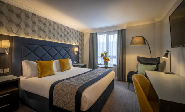 Stay 1 night and Save 15% - Double Room Only Rate - Add optional Breakfast For Only €13.00 per person per night