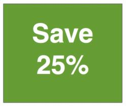 Stay 4 Nights or More & Save 25% (Maximum 2 People)