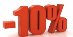 10% Discount Early Booking Offer