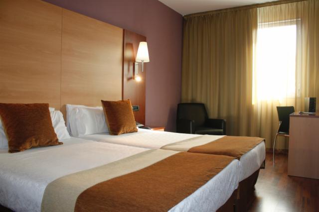 habitaciones dobles standard hotel 4 estrellas barcelona