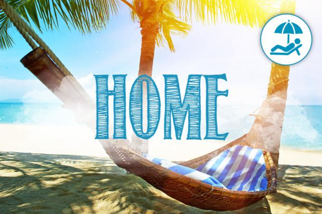 """Home"" is where you can relax"