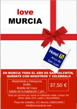 LOVEMURCIA Special Offer From €€65.00