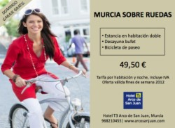 MURCIA ON WHEELS From €€49.50