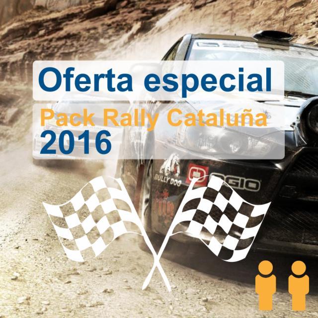 Pack Exclusivo Rallye Cataluña 2016 con Grada a Tramo Urbano 15/10 (Hab. Doble)