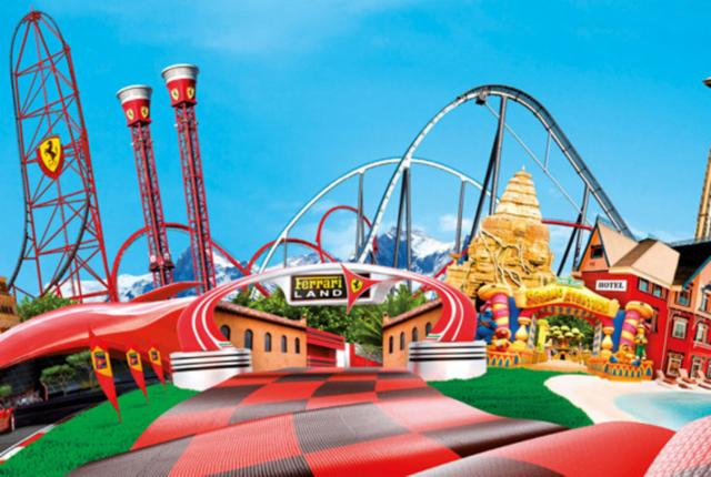 PortAventura + Ferrari Land Break (2 adults, 1 child up to 10 years old)
