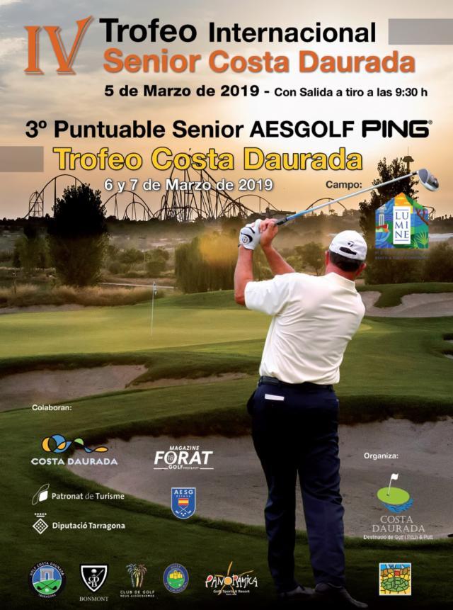 Oferta Torneo Internacional Senior Costa Daurada - Uso individual