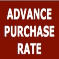 Advance Purchase Rates