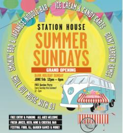 Summer Sundays - Launching 5th June