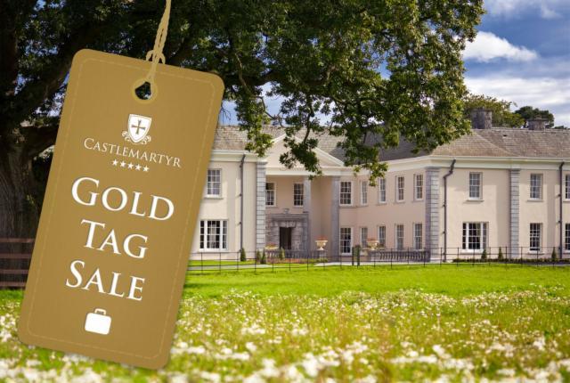 Castlemartyr Resort Gold Tag Sale