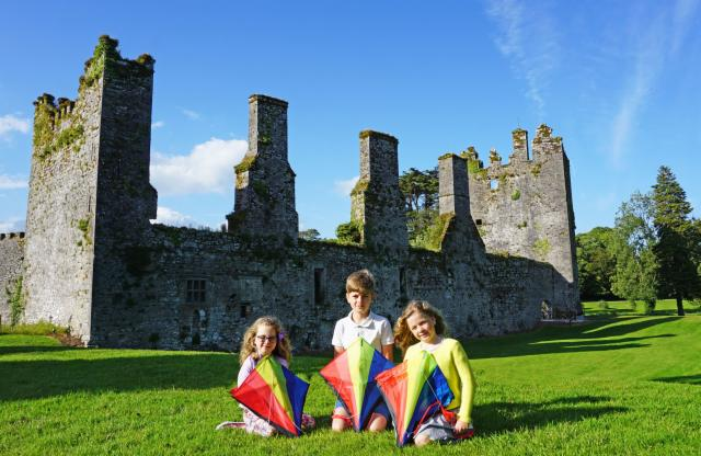 Fly a Kite a Castlemartyr Resort - Family Break Package - Deluxe Room (2 Adults & 1 Child)