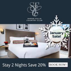 Stay 2 Nights & Save 20% January Sale