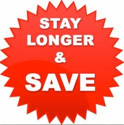 Stay Longer & Save