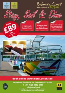 Stay, Sail & Dine Offer From £89