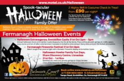 Spook-tacular Halloween Family Offer – Costume Check-In Treat*! From £90