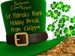 St. Patricks Bank Holiday Break From £60