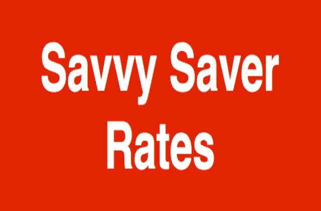 Savvy Saver Rates