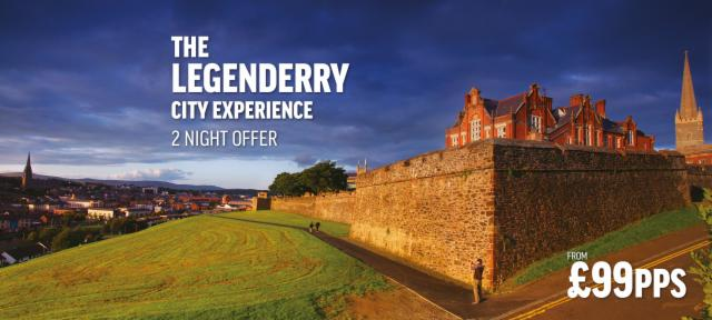 Summer LegenDerry City Experience - 2 Nights Offer from £99pps