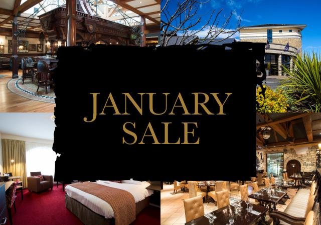 JANUARY SALE in Double Room