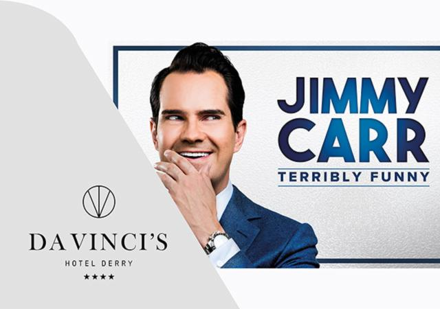 'Jimmy Carr' Theatre Package:18th October 2019