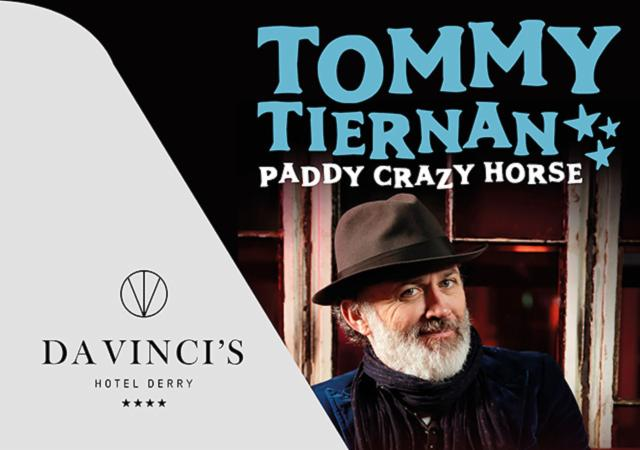 'Tommy Tiernan' Theatre Package: 21st March, 11th and 12th May 2019