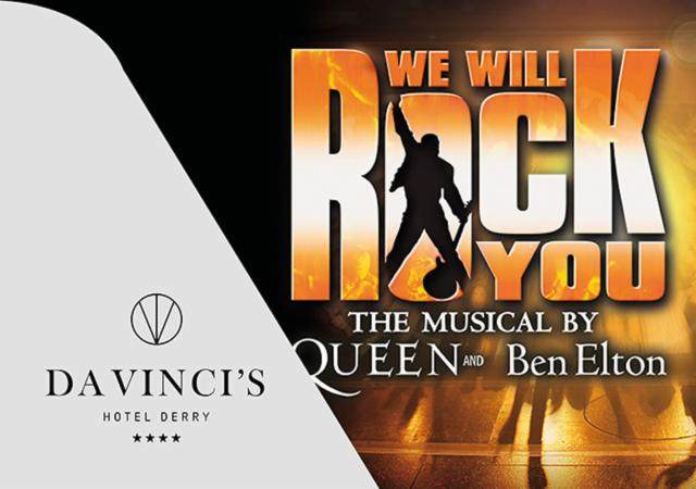 'We Will Rock You' Theatre Package: 24th & 25th October 2019