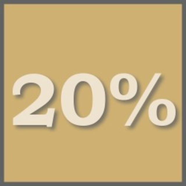 2 Nights & save 20%