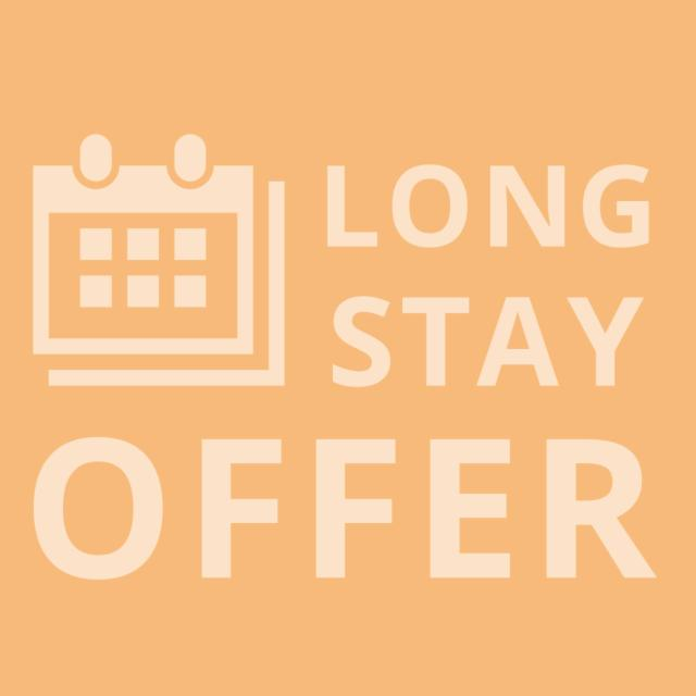 Stay Longer & Save up to 15% - Free Cancellation
