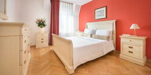 Prague Castle view Suite for up to 6 people with breakfast