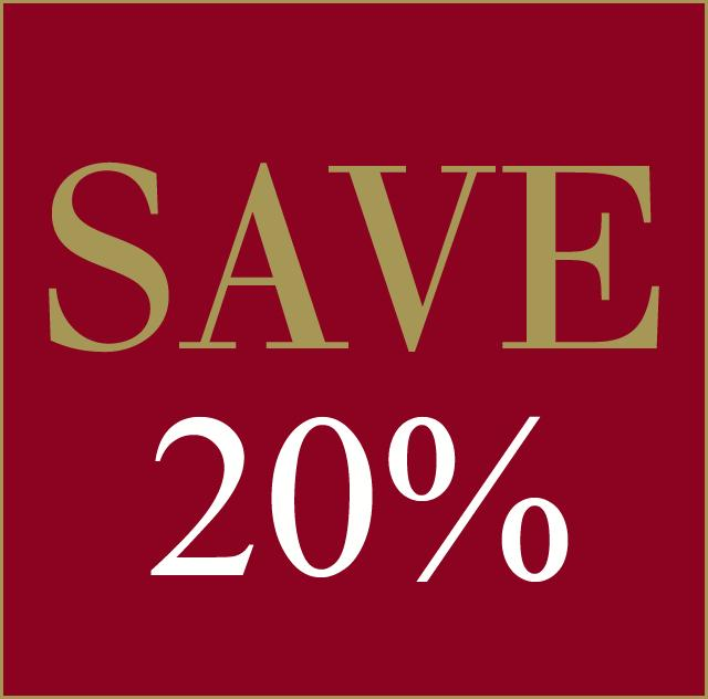 Stay 4 Nights or more - SAVE 20%