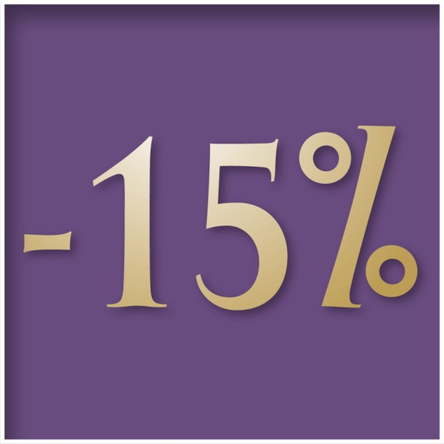 Stay 3 nights and save 15% - Non refundable