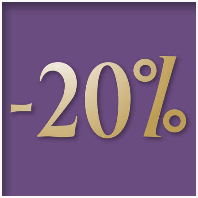 Stay 3 nights and save 20%