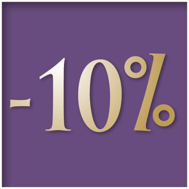 Stay 1 or 2 nights and save 10%