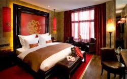 Dvoulůžkový pokoj typu Luxury Premier s manželskou postelí se snídaní (bezplatné storno)