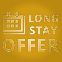 Stay 4 nights or more and SAVE 8%