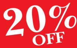 20% - Offerta Prepagata