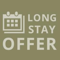 Long Stay Offer: 4 nights, 22% OFF From€ 60.00