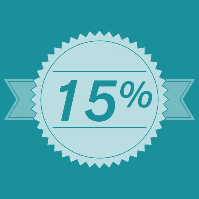 Book now & Save 15%