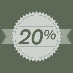 Stay 2 nights and save 20%!