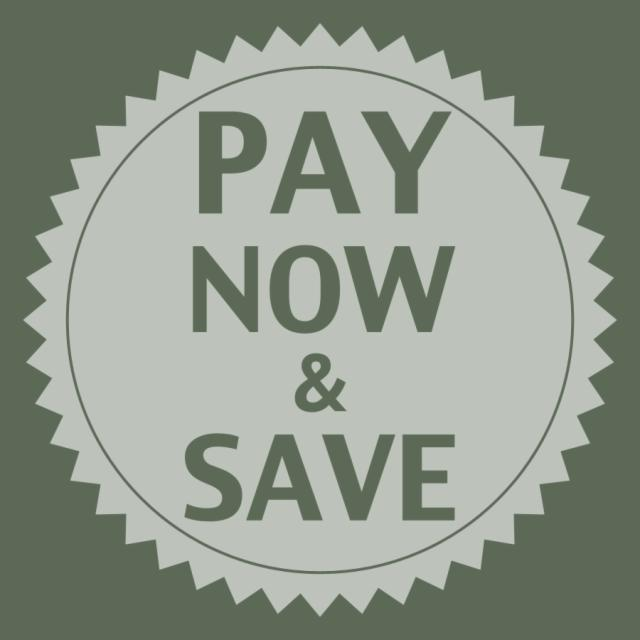 Paga ora e risparmia 10 euro!