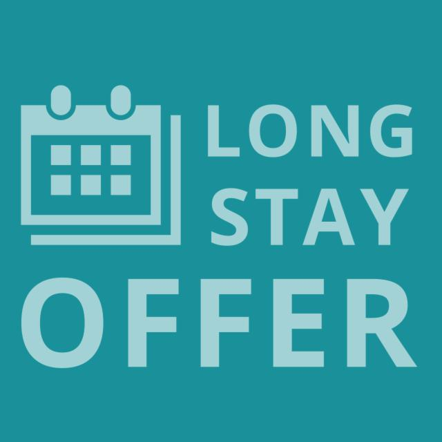 Stay 3 nights 15€ - 4 nights 20€ off!