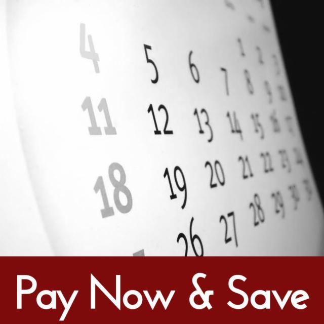 Prenota ora e risparmia!
