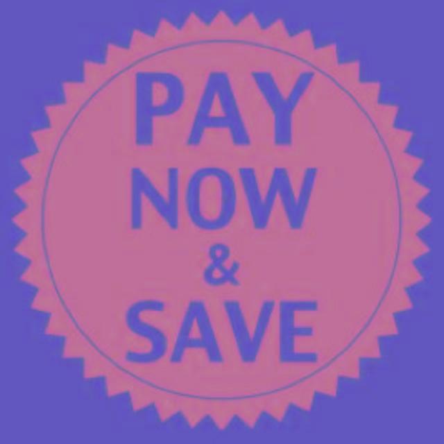 Paga ora e risparmia!