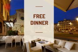 Free Dinner!