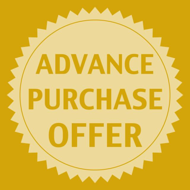 Advance Booking Offer!