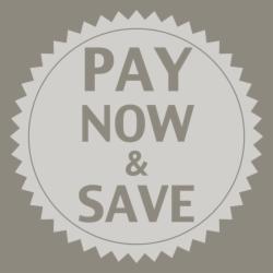 Paga ora e risparmia il 10%!