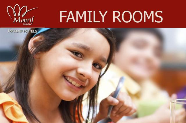 Book now our Family Rooms!