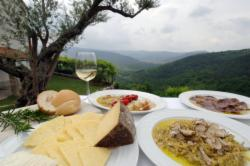 Epicurean experience in Tuscany