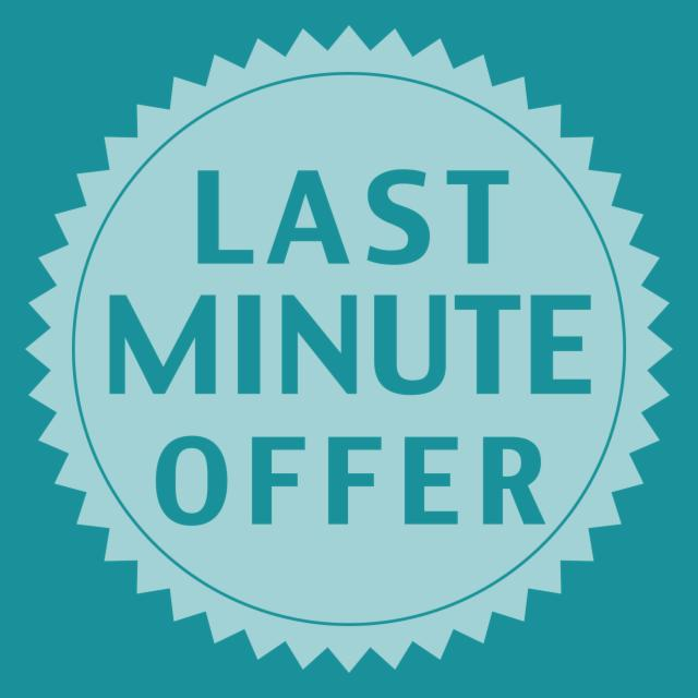 Last Minute Offer